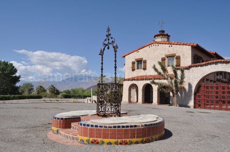 """""""Wishing Well"""" at Scotty's Castle, Death Valley"""