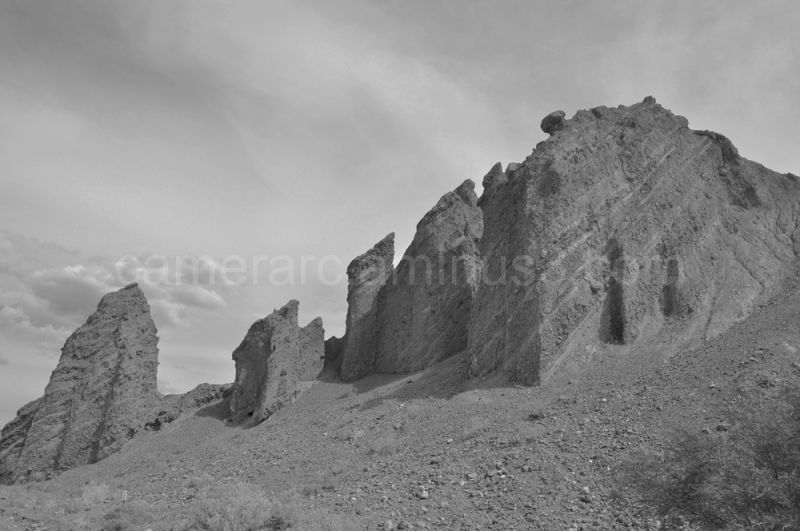 Desert Parapets 1 (B&W2)