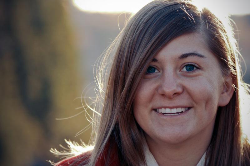 Lindsey close up face portrait