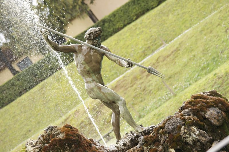 Italy Day 20: Boboli Gardens, Neptune Fountain