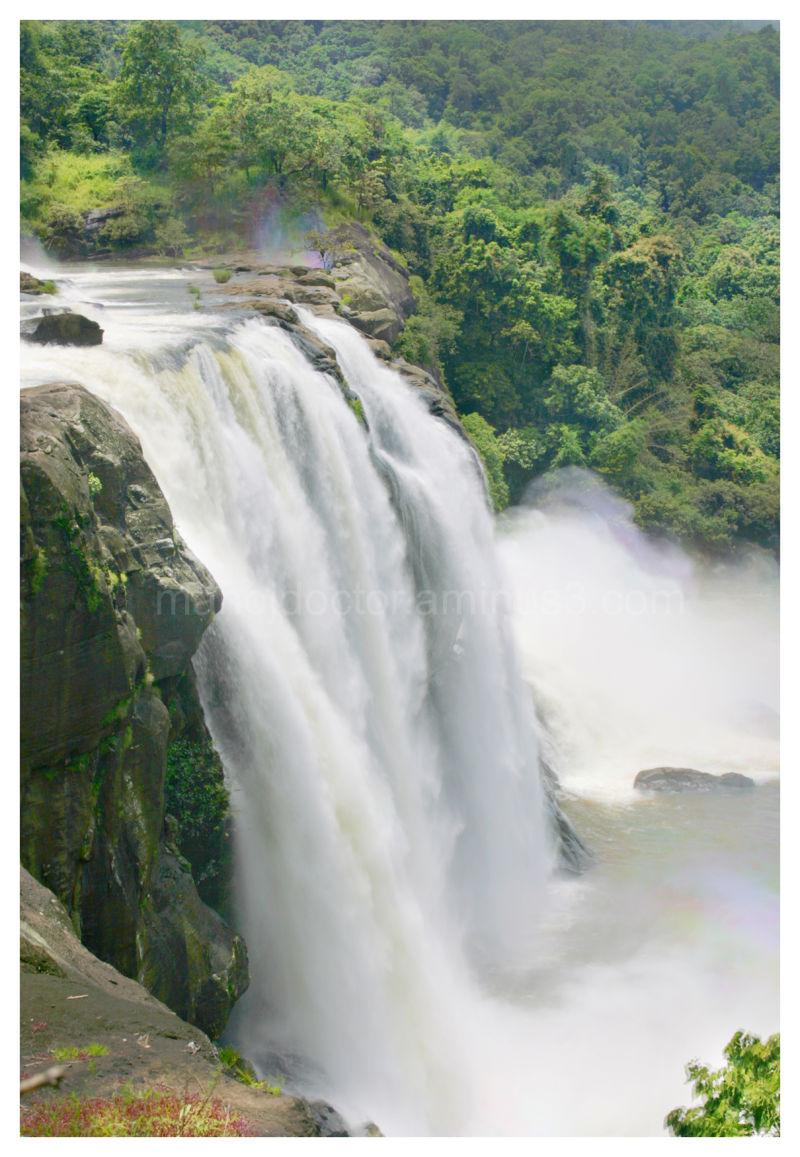 athrapilly waterfall kerala
