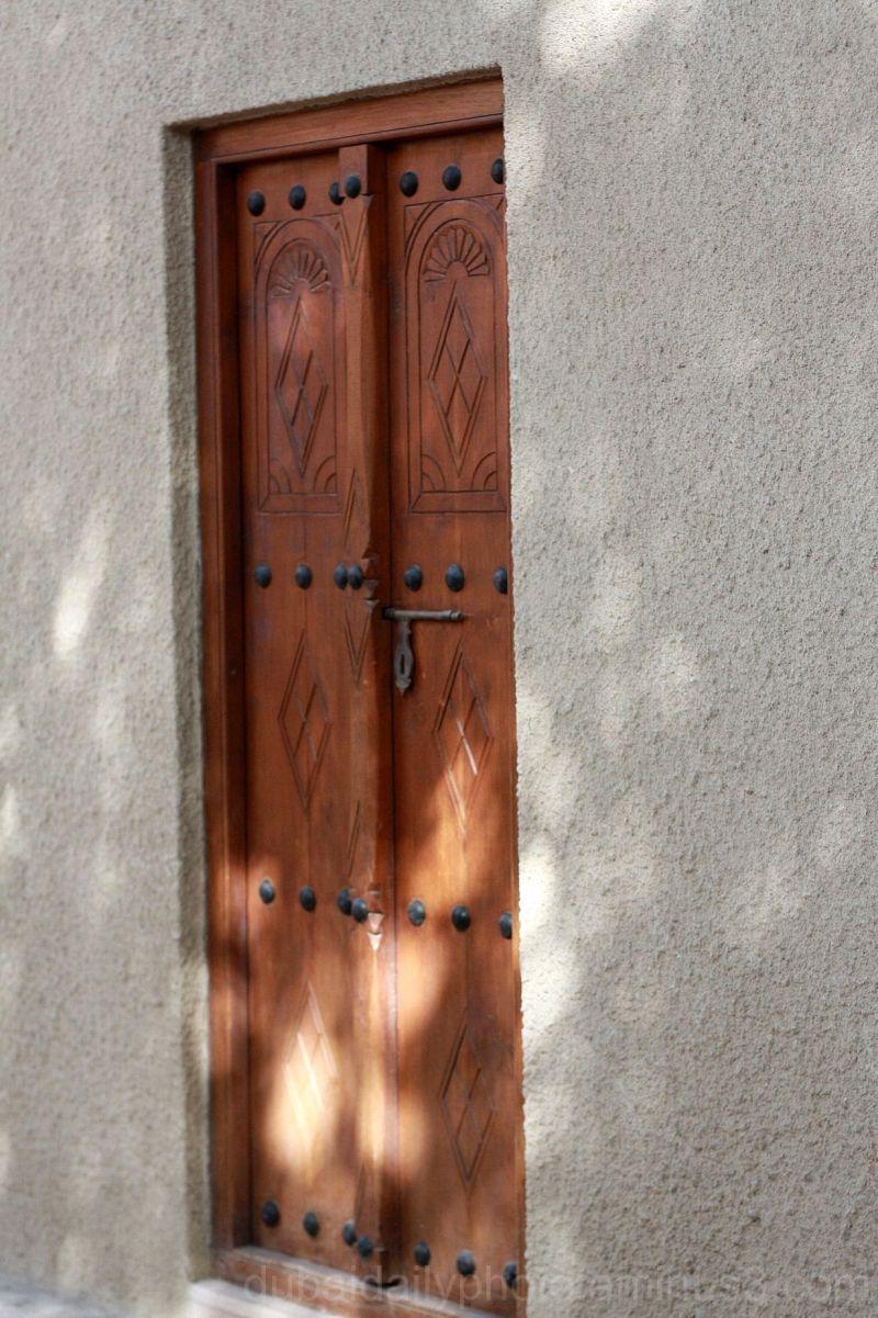 Door at Bastakiya District