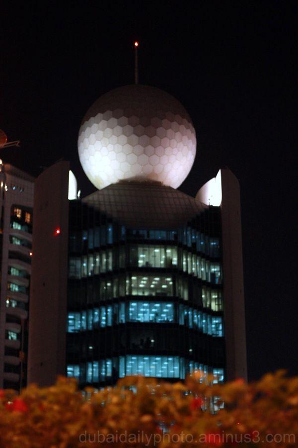 a.k.a. Golf ball building