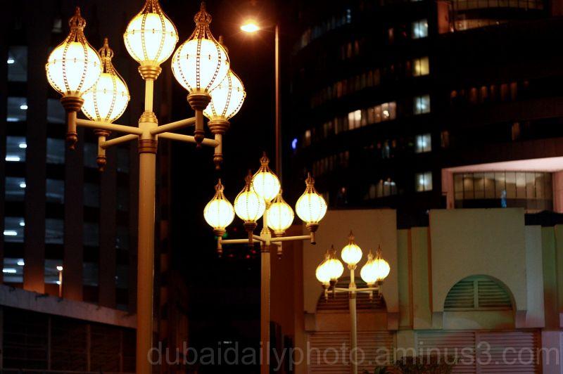 Night lights Dubai