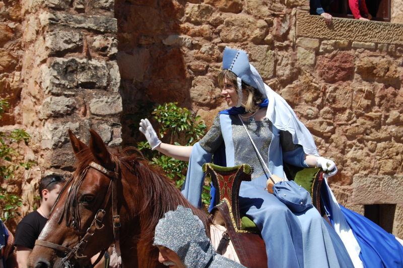 Fiesta medieval en Sigüenza, verano de 2008