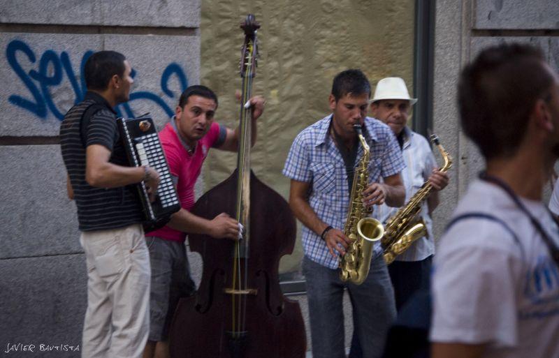 Calle preciados, Madrid