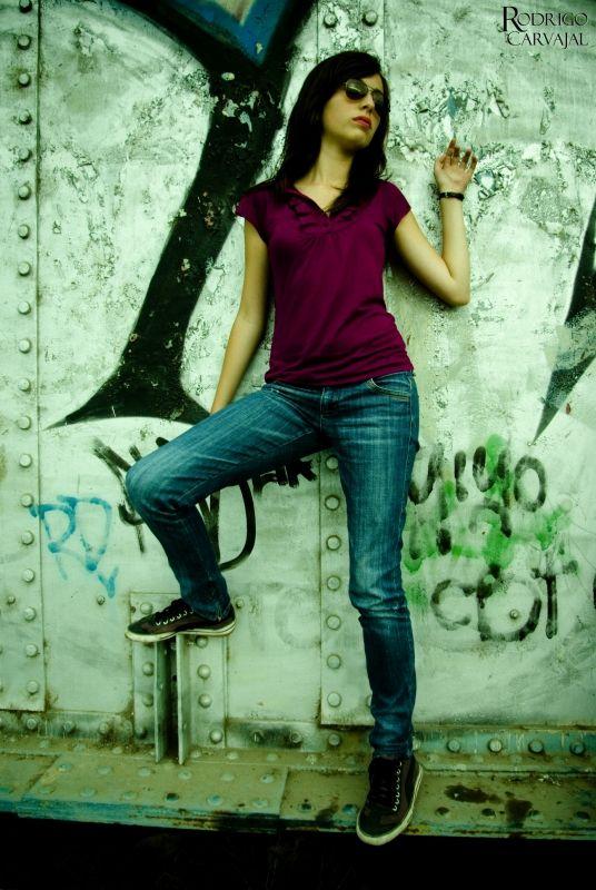 modelo mujer chilena carmen