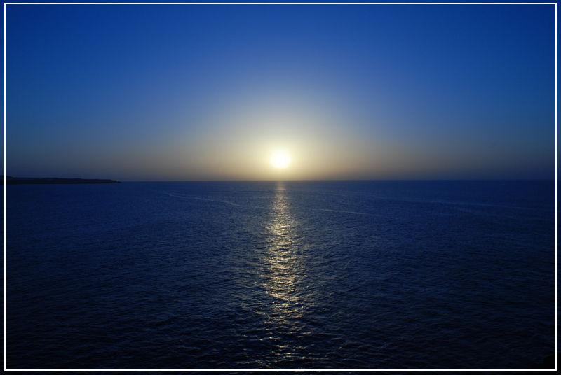 Anochecer en Gran Canaria