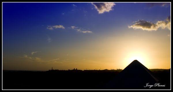 La pirámide del sur