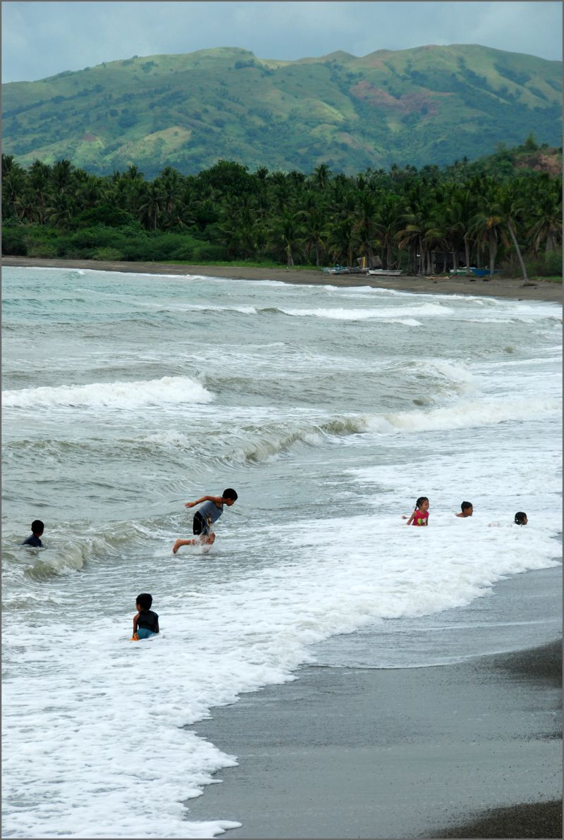 beach in batiano, odiongan, romblon