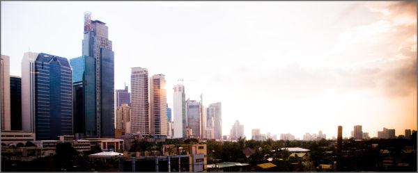 Makati cityscape