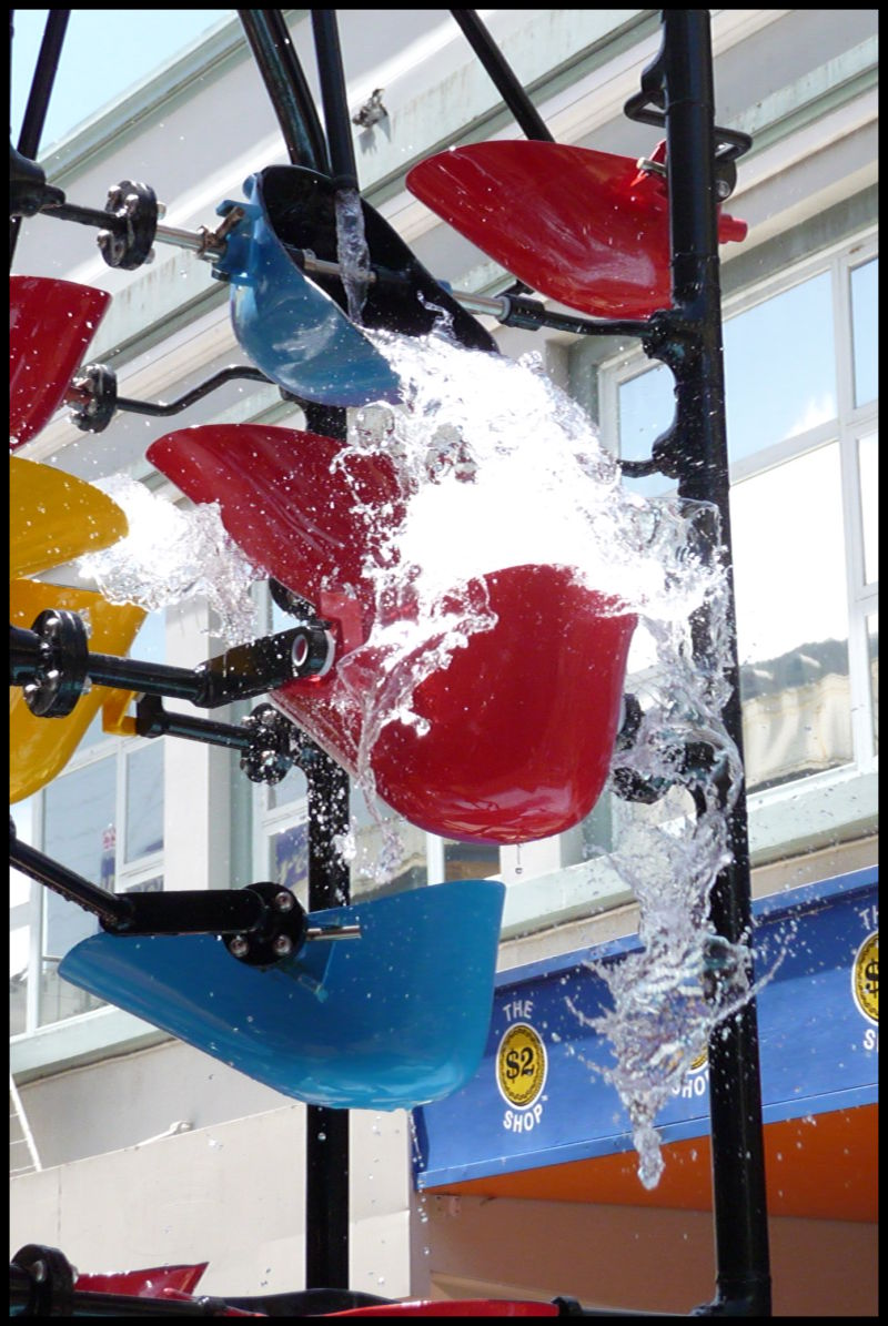 The Bucket Fountain is back!!