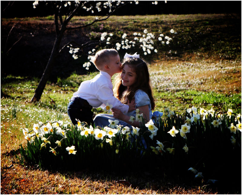 A Kiss in Spring