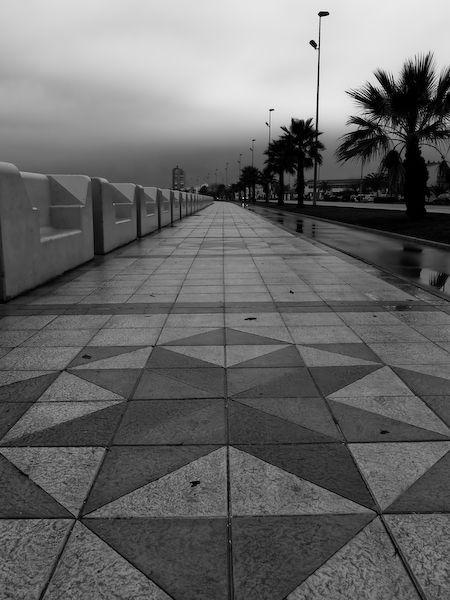 Paseo de la Avenida de España - La Línea.