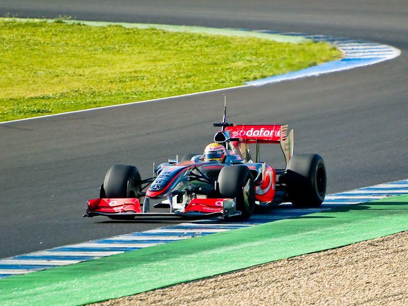 Kovalainen's McLaren