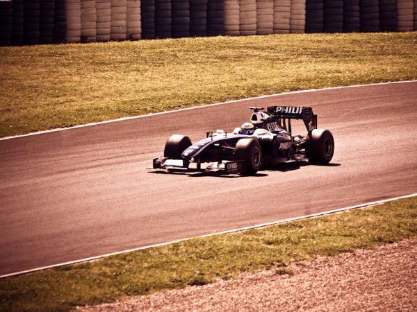 Rosberg's Williams