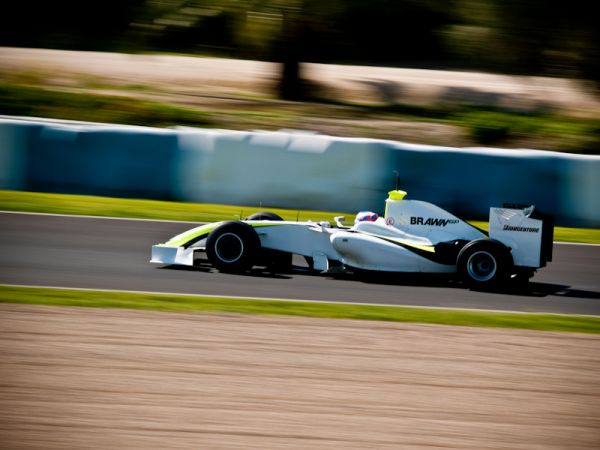 Button's Brawn GP