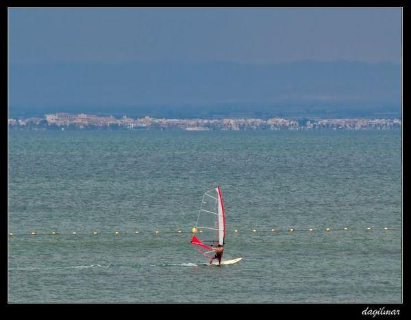 Windsurfing in the Mar Menor (Murcia)