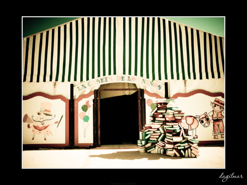 The marquee of books