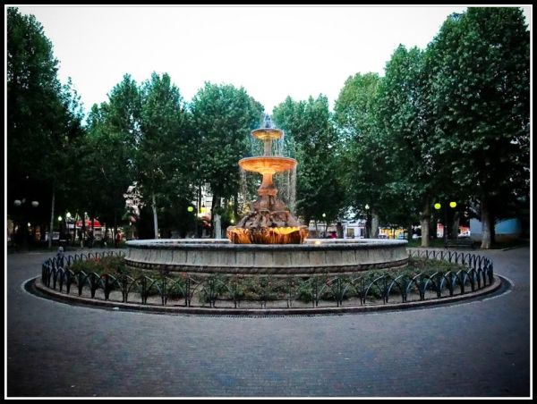 Fountain in Colon's Square