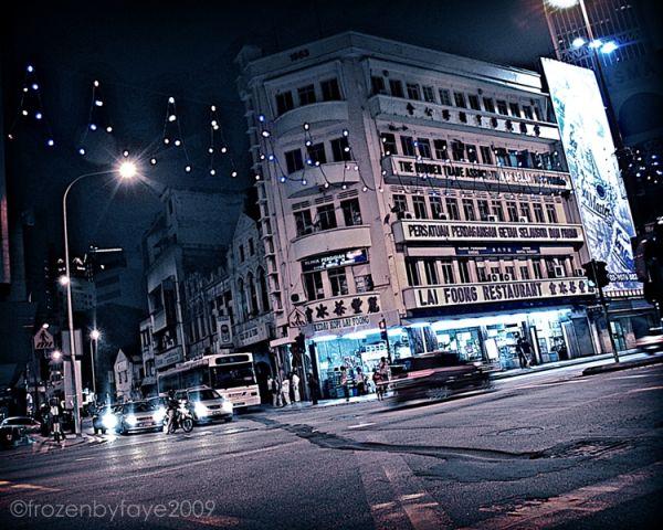 If Gotham City had down town Petaling Street