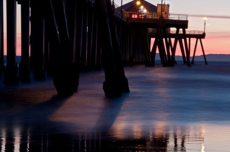 Sunset at Surf City Pier