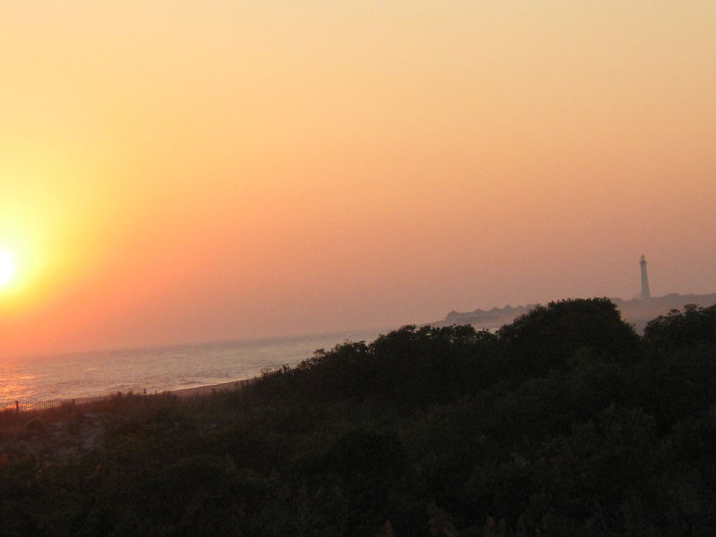 Sunset in Cape May