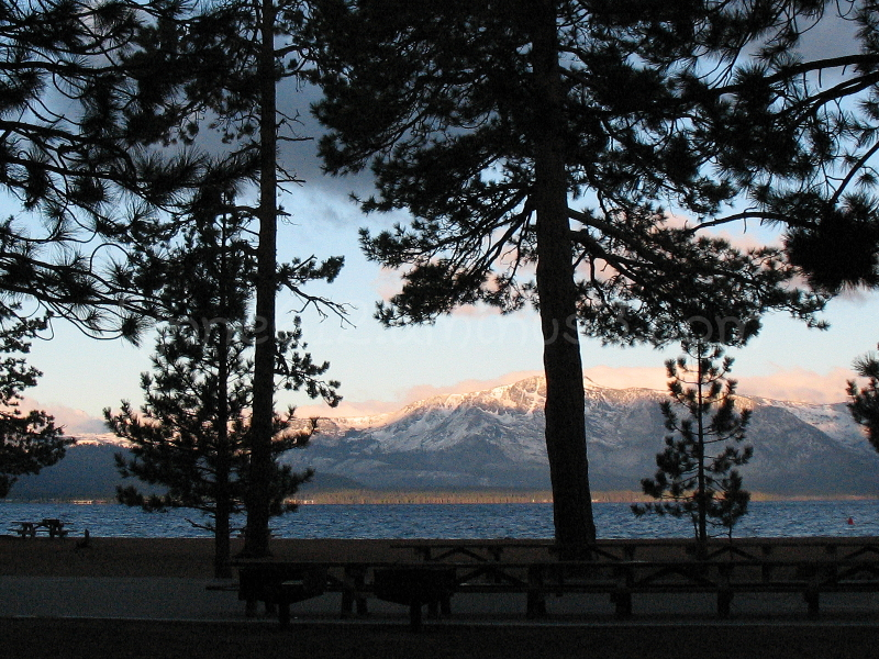 Tahoe in the morning.