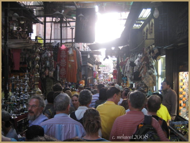 A Street Market in Cairo