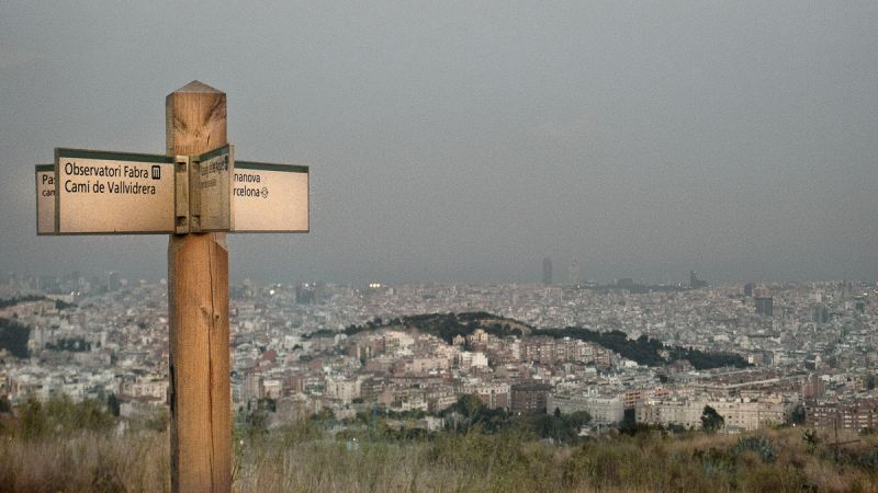 BCN from Collcerola