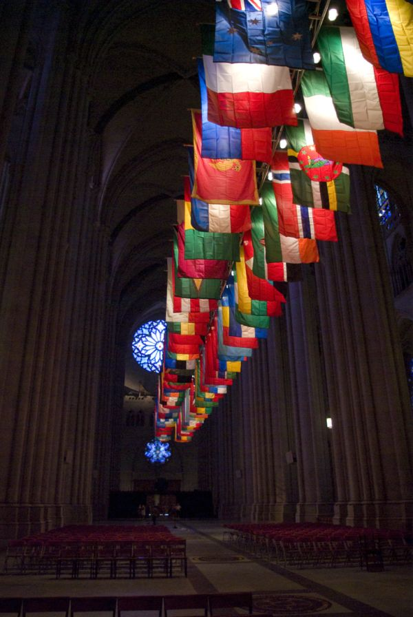 Cathedral of St. John, New York Philharmonic, Flag