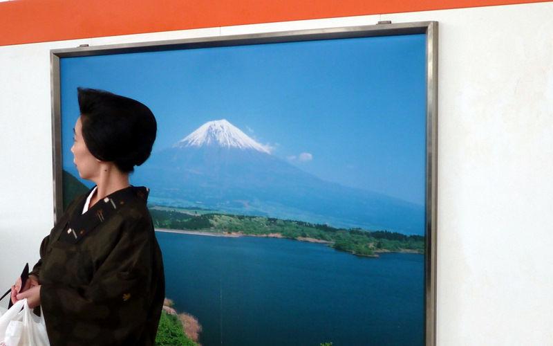 Fuji et chignon...