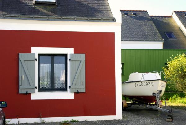 rouge ,vert, couleurs bateaux...