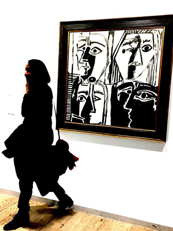 regardeuses cubiste ...