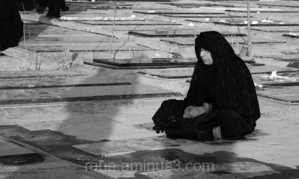 tehran cemetery women