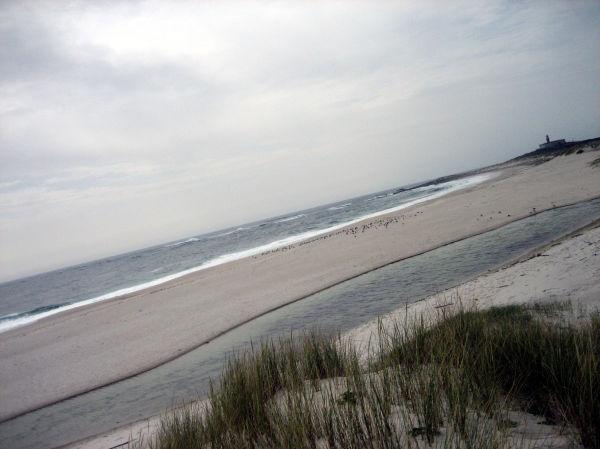 Praia e faro de Lariño