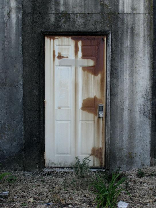 Secret Rusted Door