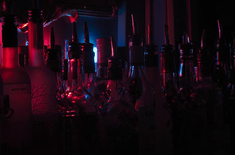 Pink & Blue Bottles