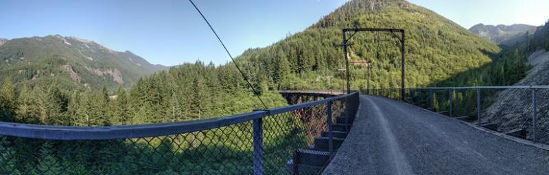 The Trail Through the Mountains