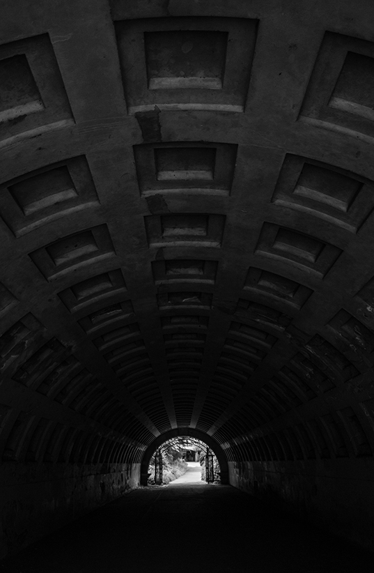 Tunnel of Squares