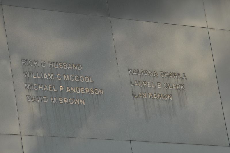 Astronaut Memorial Detail