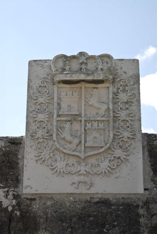 Castillo de San Marcos - Coat of Arms