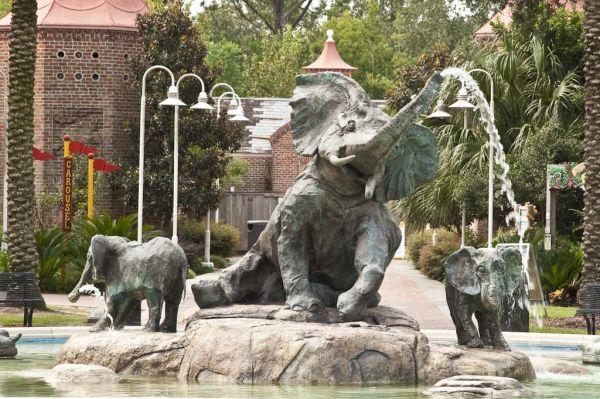 Audubon Zoo Fountain 2