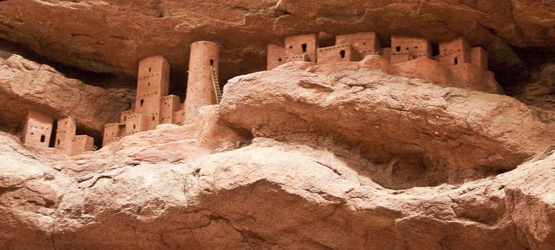 Anasazi Cliff Dwellings Model