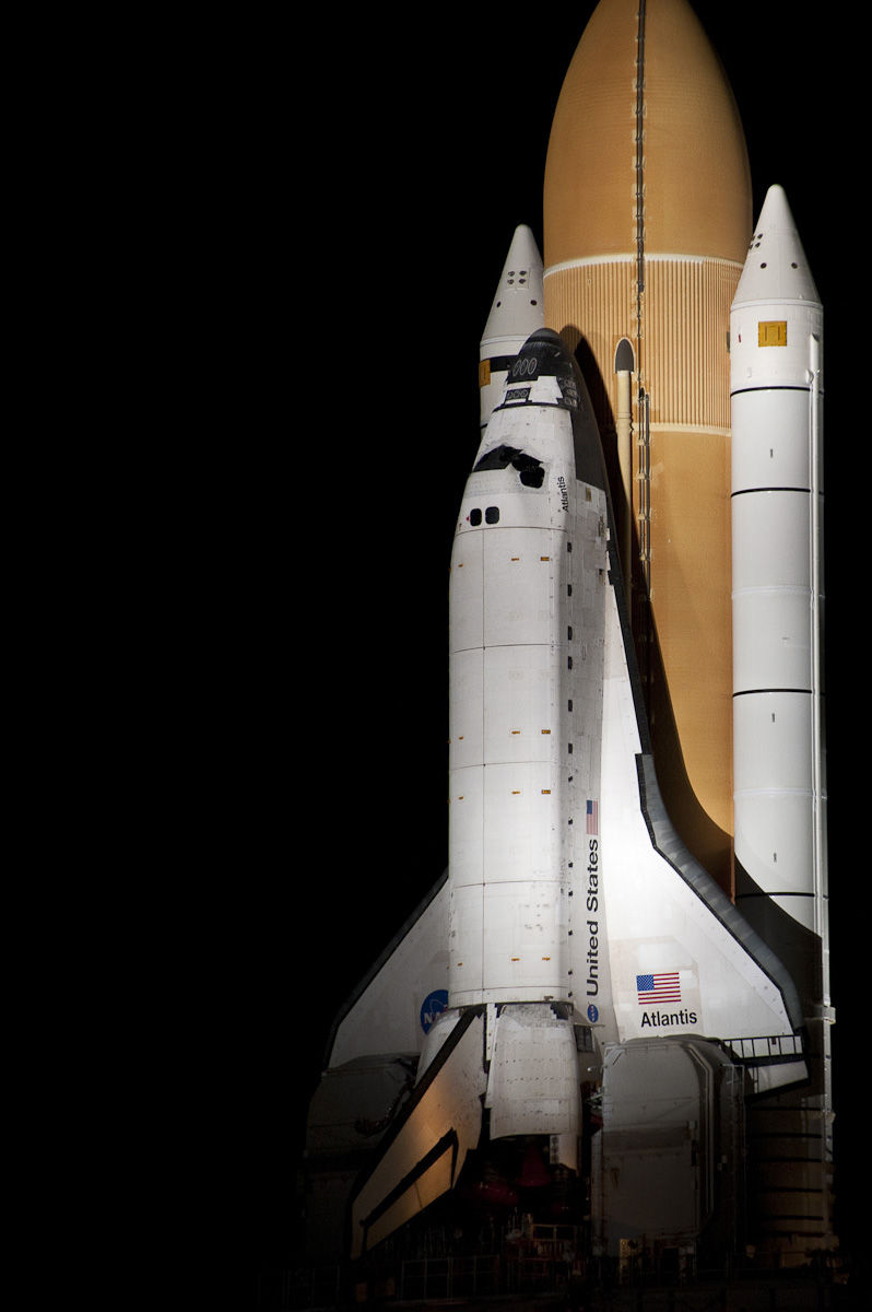 STS-135 Rollout - Atlantis