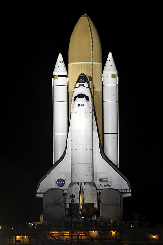 STS-135 Rollout