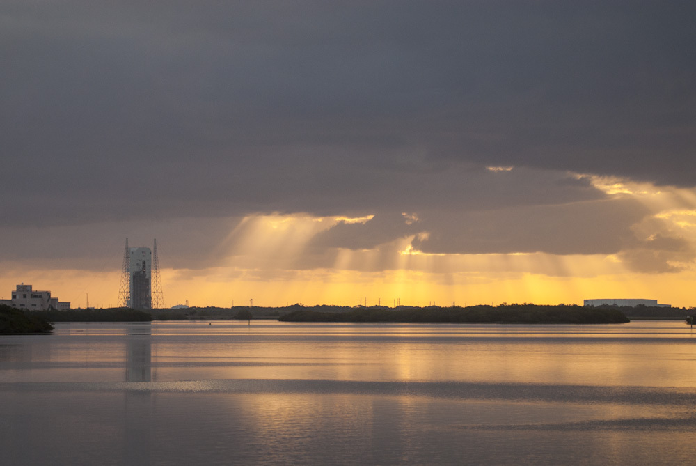 Sunrise at Cape Canaveral Air Force Station