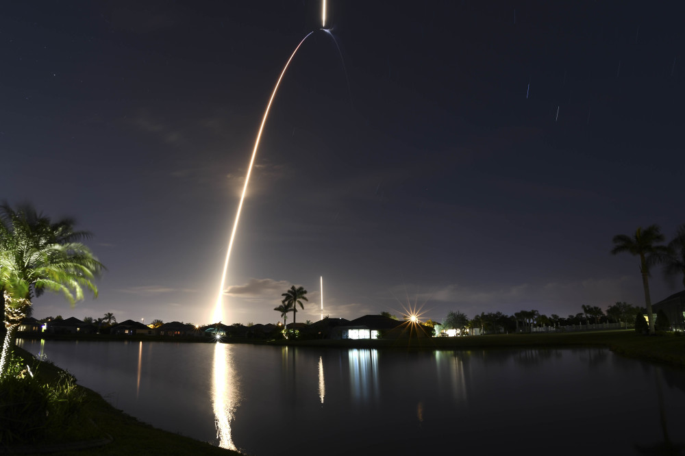 Falcon 9 ZUMA Launch