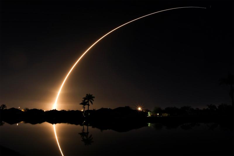 Falcon 9 HipaSat Launch