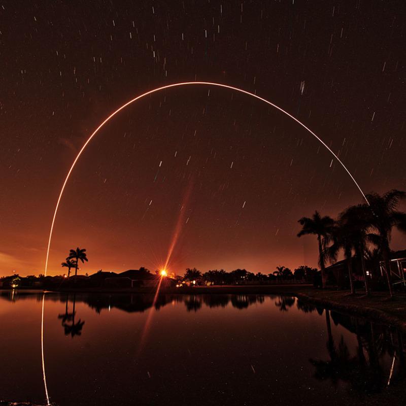 Parker Solar Probe - Delta IV Heavy Launch HDR
